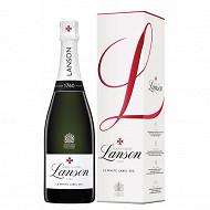 Champagne Lanson le White label sec 75cl sous étui 12.5%vol