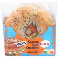 Cora bagel saumon fumé concombre 145g