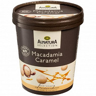 Alnatura pot sélection macadamia caramel bio 500ML - 350g