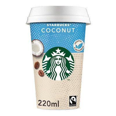 Starbucks Starbucks végérale cup coconut cocoa cappuccino 220ml