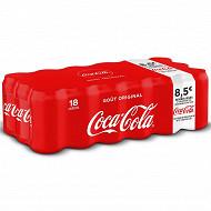 Coca-Cola boîte 18x33cl offre fidélité