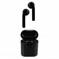 T'nb Ecouteurs bluetooth tws + boîtier de charge noir EBPLAYBKTWS