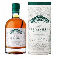 Charrette rhum héritage le Vanille 40%vol 70cl + canister