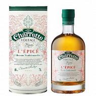 Charrette rhum héritage l'épice 40%vol 70cl + canister