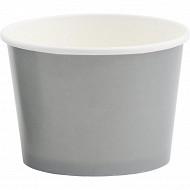 Pots a snack x5 en carton gris 41cl