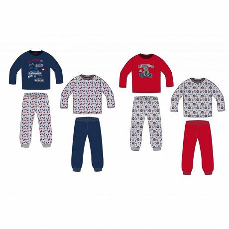 Lot 2 pyjamas Garçon MARINE 8ANS