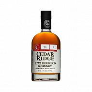 Cedar Ridge iowa bourbon cask whiskey 70cl 40%vol