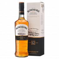 Bowmore whisky single malt islay 12 ans 70cl 40%vol