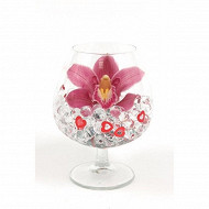 Cymbipack 1 fleuron verre cognac