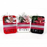 Cymbipack 1 fleuron boite à LOVE
