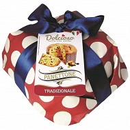 Dolcioso panettone recette traditionnelle emballé main  750g