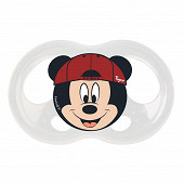 2 Sucettes SOFT TOUCH FRIENDS MICKEY 18-36 mois Tigex