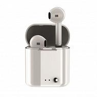 Izytronic Ecouteurs sans fil true wireless bt4.2 blanc IZY-Q7-TWS-WHITE