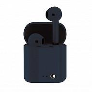 Izytronic Ecouteurs sans fil true wireless bt4.2 bleu IZY-Q7-TWS-BLUE