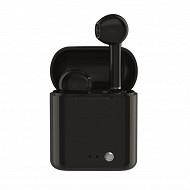 Izytronic Ecouteurs sans fil true wireless bt4.2 noir IZY-Q7-TWS-BLK