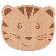 Hochet grelot en bois fsc tigre safari Bébé Confort