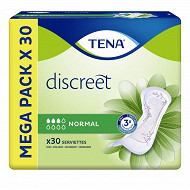 Tena lady discreet serviette x30 normal megap