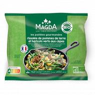Magda rissolée pomme de terre haricots verts et cepes bio 600g