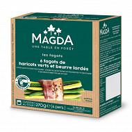 Magda fagots haricots verts et beurre lardés 270g