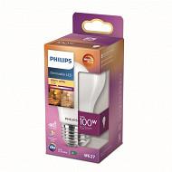 Philips ampoule led classic 100W A60 E27 FR WGD90 boîte de 1