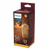 Philips ampoule led vintage classic 50W ST64 E27 GOLD D boîte de 1