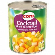 Cora cocktail 4 fruits au sirop léger 4/4  800g