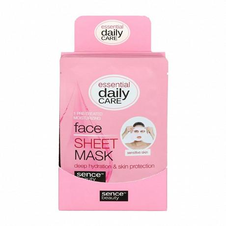 Masque tissu visage hydratant pour peau sensible 23 ml