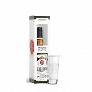 Jim Beam white 70cl + verre 40%vol
