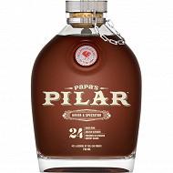 Rhum Papa's Pilar 24 ans USA 43% Vol.70cl