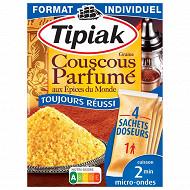 Tipiak coucous parfumé 4 x 65g