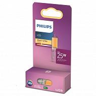 Philips ampoule LED classic 25W G9 WW NON DIMABLE boîte de 1