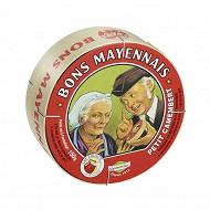 Bons mayennais petit camembert 150 g