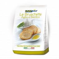 Bruschettas ail basilic 150 g