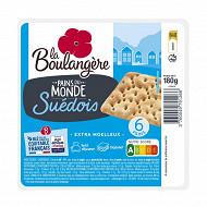 La Boulangère 6 pains suédois 180g
