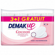 Demakup coton cocoon 208 ovales (3+1)