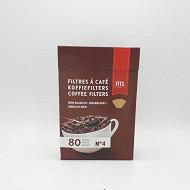 Fits filtre à café brun n°4x80