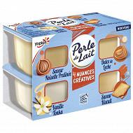 Perle de lait nuances créatives 4x94g