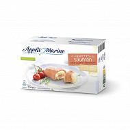 Appéti'Marine 4 paupiettes au saumon coeur coulant champagne 500g