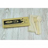 Kit couvert (couteaux - fourchettes - cuillieres - serviettes)
