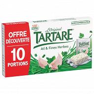 Tartare ail et fines herbes 10 portions 160g offre découverte