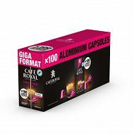 Café Royal capsules type nespresso lungo forte 10x10 550g