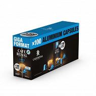 Café Royal capsules type nespresso lungo 10x10 530g