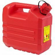 Eda jerrican plastique hydrocarbure 10l - rouge