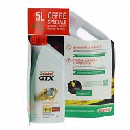 Castrol GTX essence 5W-30 C4 5+1l