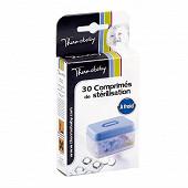 30 comprimés de stérilisation à froid en boîte Thermobaby