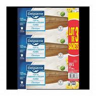 Delpierre Filets de harengs fumés au bois de hêtre 600g
