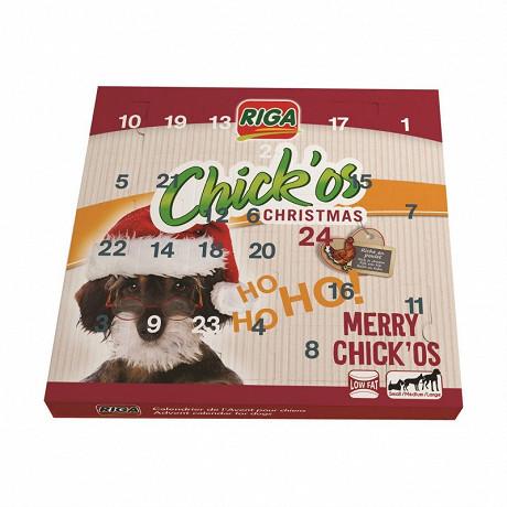 RIGA Calendrier de l'Avent CHICK'os 2020 snack pour chien