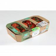 Tomate grappe bio barquette1kg