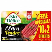 Isla Délice l'extra tendre halal 10+2 offerts 960g