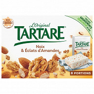 Tartare noix et éclats d'amandes 8 portions 128g